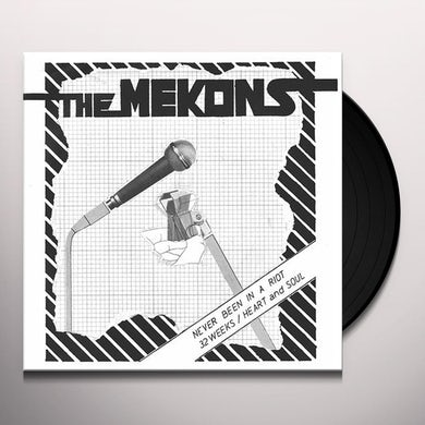 Mekons NEVER BEEN IN A RIOT Vinyl Record