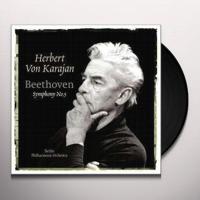 Herbert Von Karajan  BEETHOVEN-SYMPHONY NO. 5 Vinyl Record