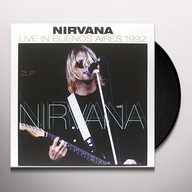 Nirvana LIVE IN BUENOS AIRES 1992 Vinyl Record - 180 Gram Pressing