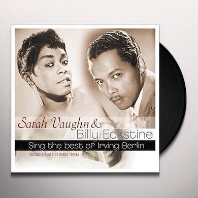 Sarah Vaughan Billy Eckstine SING THE BEST OF IRVING BERLIN Vinyl Record