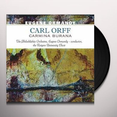 CARL ORFF-CARMINA BURANA Vinyl Record