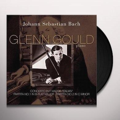 Johann Sebastian Bach CONCERTO IN F MAJOR ITALIAN / PARTITA A IN B-FLAT Vinyl Record