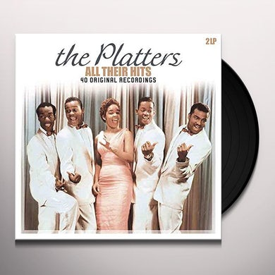 The Platters ALL THEIR HITS Vinyl Record