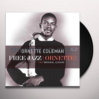 Ornette Coleman FREE JAZZ / ORNETTE Vinyl Record
