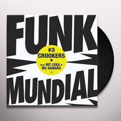 Crookers DUNK MUNDIAL 3 Vinyl Record