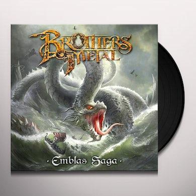 Brothers Of Metal EMBLAS SAGA Vinyl Record