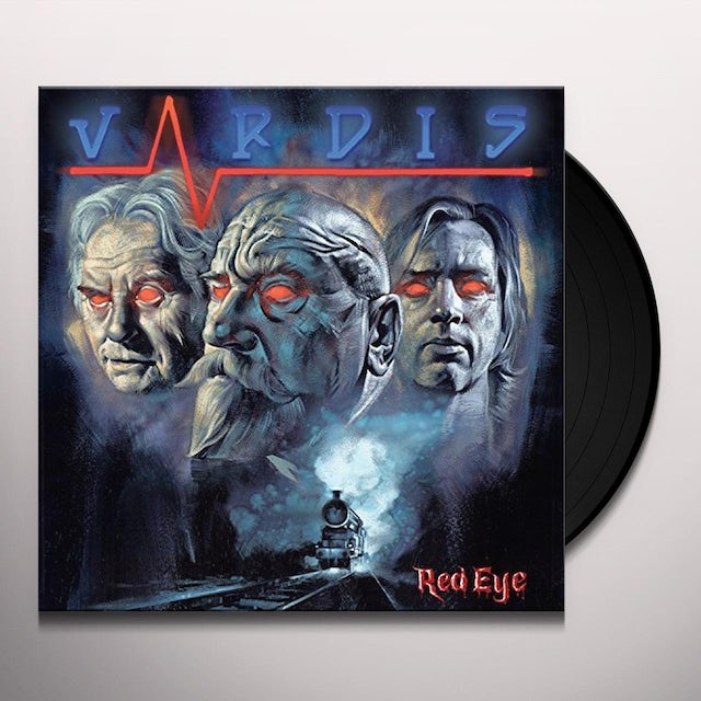 VARDIS RED EYE Vinyl Record