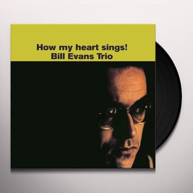 Bill Evans Trio HOW MY HEART SINGS Vinyl Record