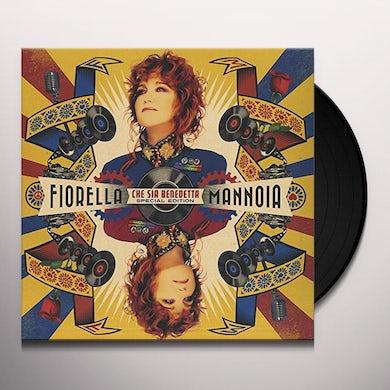 Fiorella Mannoia CHE SIA BENEDETTA SPECIAL EDITION Vinyl Record