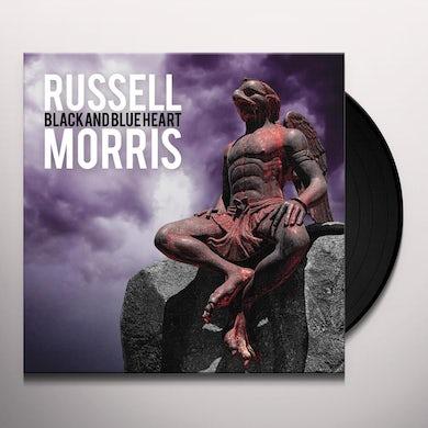 Russell Morris BLACK & BLUE HEART Vinyl Record