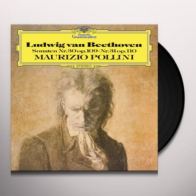 Maurizio Pollini Beethoven: Sonaten No. 30/Op. 109/No. 31/Op. 110 Vinyl Record