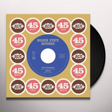 Gold NO PARKING / NO PARKING (ALT VERSION) Vinyl Record