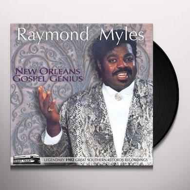 Raymond Myles NEW ORLEANS GOSPEL GENIUS Vinyl Record