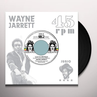 Wayne Jarrett LOVE IN A MI HEART Vinyl Record