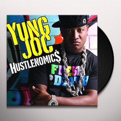 Yung Joc BOTTLE POPPIN / PLAY YOUR CARDS Vinyl Record