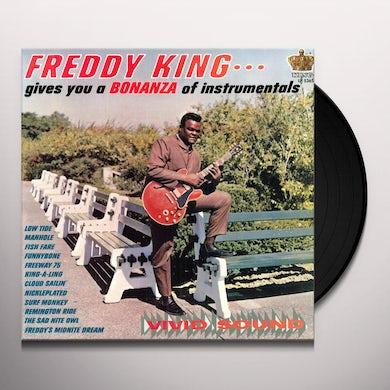 Freddie King BONANZA OF INSTRUMENTALS Vinyl Record
