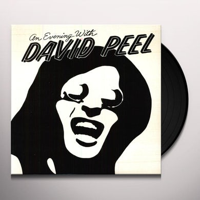 David Peel AN EVENING WITH Vinyl Record
