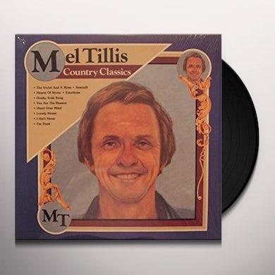 Mel Tillis COUNTRY CLASSICS Vinyl Record
