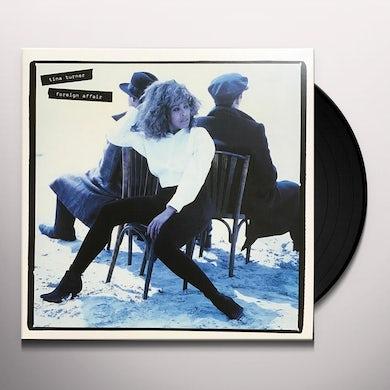 Tina Turner FOREIGN AFFAIR Vinyl Record