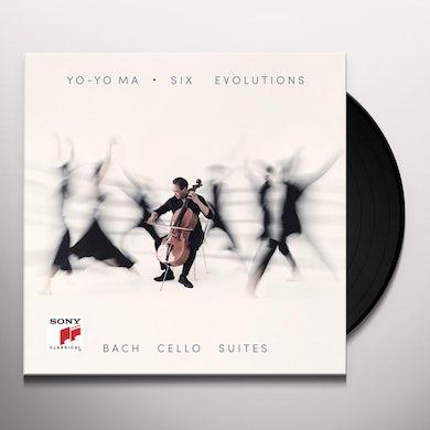 Yo-Yo Ma Bach: Six Evolutions/Cello Suites Vinyl Record