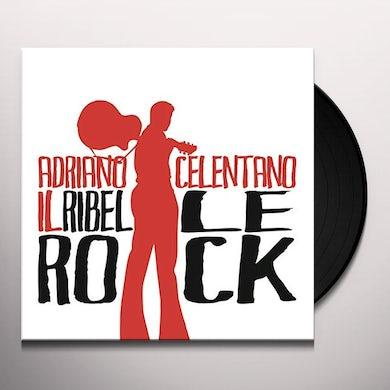 Adriano Celentano IL RIBELLE ROCK Vinyl Record