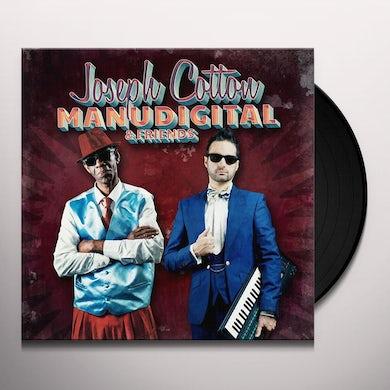 MANUDIGITAL MEETS JOSEPH COTTON AND FRIENDS Vinyl Record