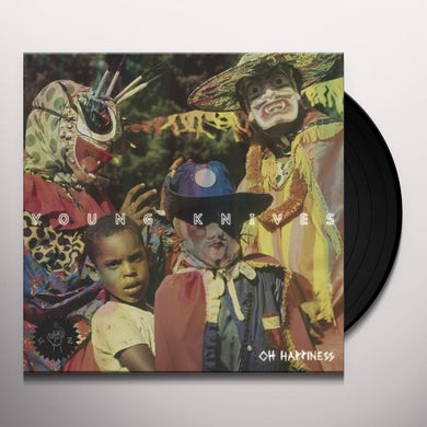 Young Knives OH HAPPINESS Vinyl Record