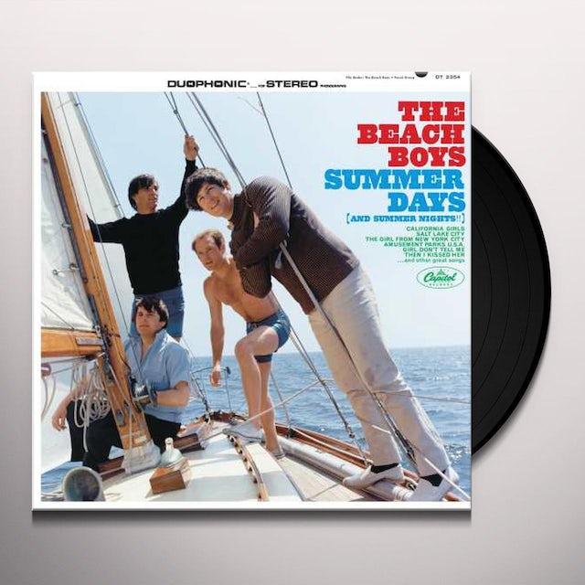 The Beach Boys SUMMER DAYS & SUMMER NIGHTS Vinyl Record