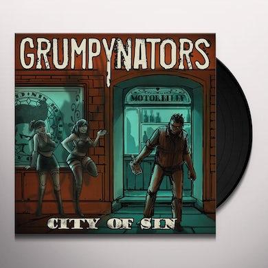 Grumpynators CITY OF SUN Vinyl Record