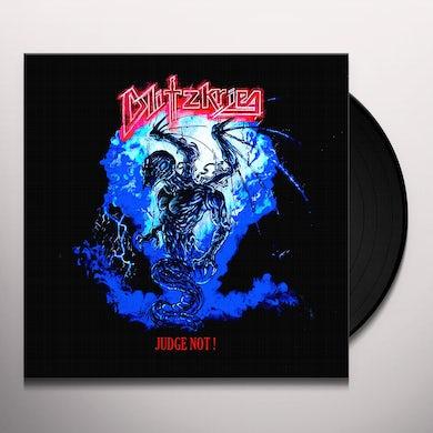 Blitzkrieg JUDGE NOT Vinyl Record