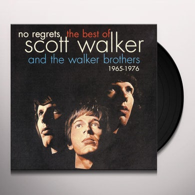 NO REGRETS: BEST OF SCOTT WALKER & WALKER BROTHERS Vinyl Record