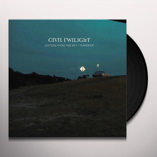 Civil Twilight LETTERS FROM THE SKY / TEARDROP Vinyl Record
