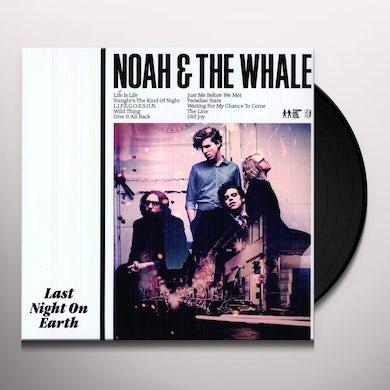 Noah & The Whale LAST NIGHT ON EARTH Vinyl Record