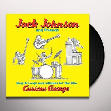 Jack Johnson SING-A-LONGS & LULLABIES FOR FILM CURIOUS GEORGE Vinyl Record