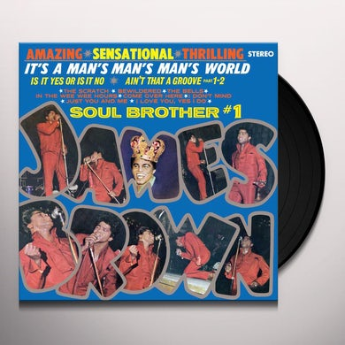 James Brown IT'S A MAN'S MAN'S MAN'S WORLD Vinyl Record