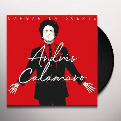 Andres Calamaro CARGAR LA SUERTE Vinyl Record