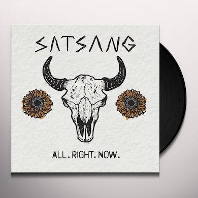 Satsang ALL. RIGHT. NOW. Vinyl Record