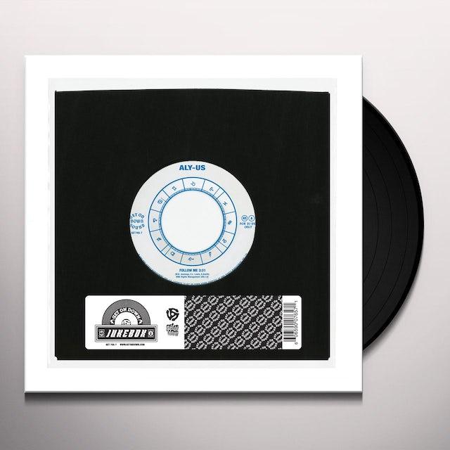 Aly Us FOLLOW ME Vinyl Record