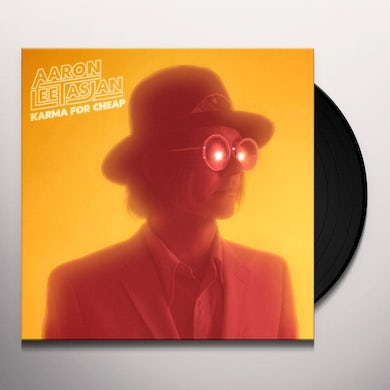 Aaron Lee Tasjan KARMA FOR CHEAP Vinyl Record