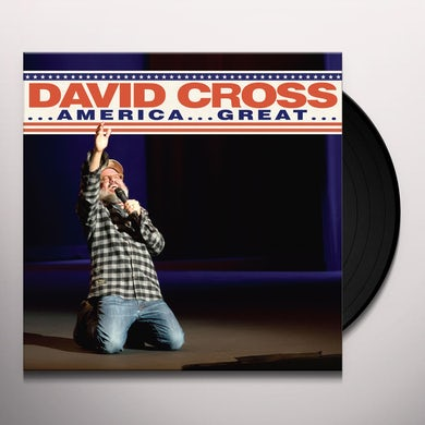 David Cross AMERICA....GREAT Vinyl Record
