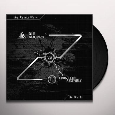 DIE KRUPPS VS FRONT LINE ASSEMBLY REMIX WARS 2 Vinyl Record