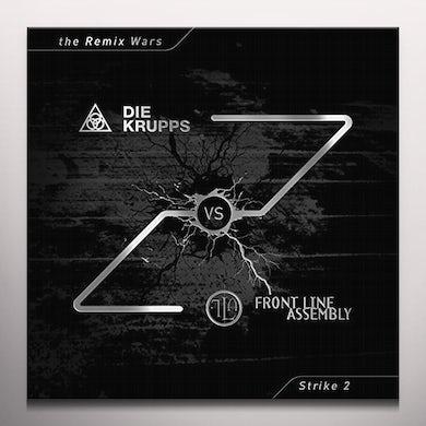 DIE KRUPPS VS FRONT LINE ASSEMBLY REMIX WARS 2 Vinyl Record - Colored Vinyl, Green Vinyl
