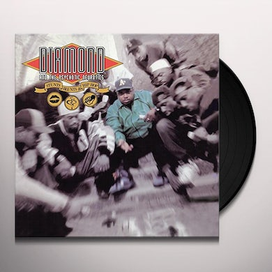 DIAMOND D & PSYCHOTIC NEUROTICS STUNTS BLUNTS & HIP HOP Vinyl Record