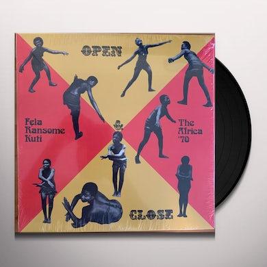 Open & Close Vinyl Record