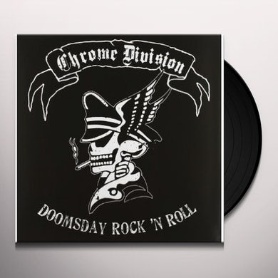 Chrome Division DOOMSDAY ROCK'N'ROLL Vinyl Record - Holland Release