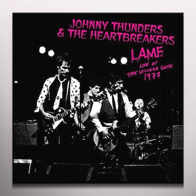 Johnny Thunders L.A.M.F. - LIVE AT THE VILLAGE GATE 1977 Vinyl Record