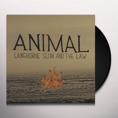 Langhorne Slim ANIMAL Vinyl Record
