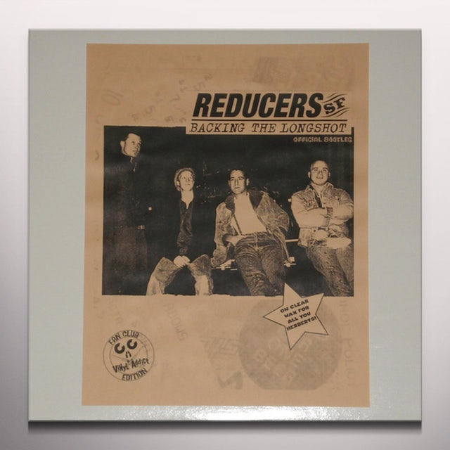 REDUCERS S.F. BACKING THE LONGSHOT Vinyl Record