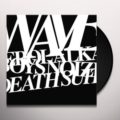 Erol Alkan WAVES & DEATH SUITE (EP) Vinyl Record
