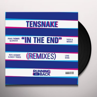Tensnake IN THE END Vinyl Record